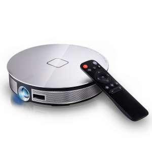 Mini pocket DLP smart projector WXGA 1280*720 820g size as iphone