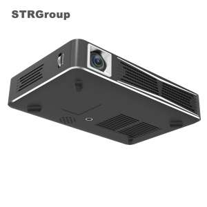 Latest Pocket size LED Projector HD 3D DLP mini led projector BT mobile android and wifi