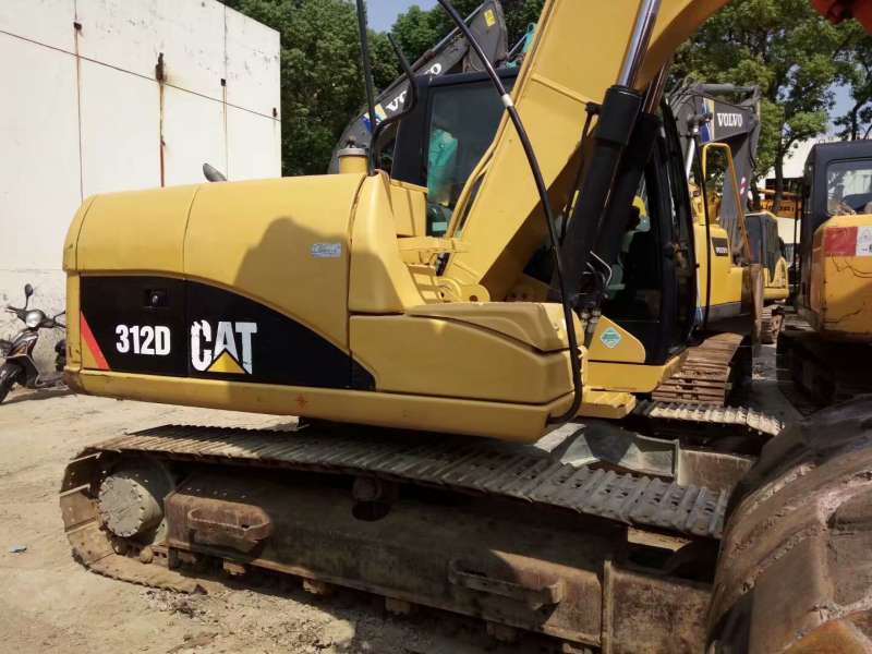 Used CAT 312D Hydraulic Crawler Excavator In good condition