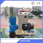 Straw grain grass corn wheat straw farm animal feed pellet making machine