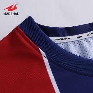promo code 03624 1155d Customized Bulk Football Shirt Maker Cheap Polyester Striped ...