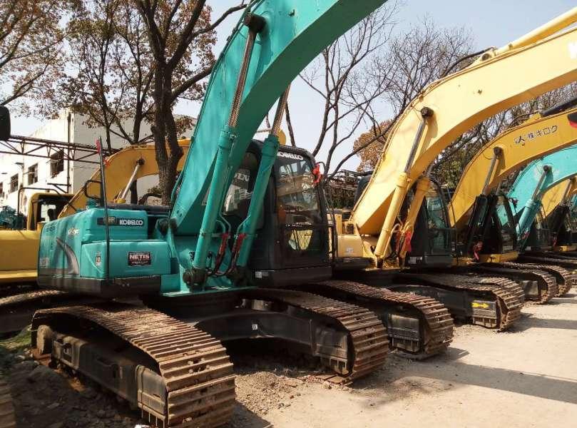 Used Kobelco SK200-8 Crawler Excavator With Cheap Price