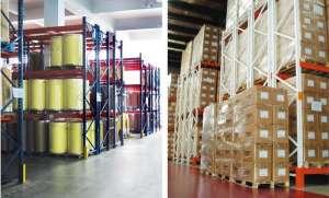 Aside Pallet Storage Racking For Storage Shelves