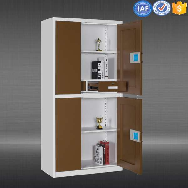 4 Door Office Used Steel Storage Cabinet
