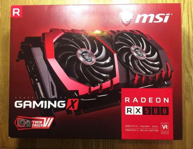 MSI AMD Radeon RX 580 4GB GDDR5