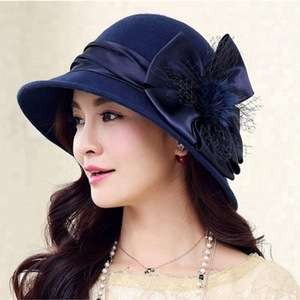 a4a616df8b4 Custom Fashion Women Bowler Derby Formal Hats Made In China