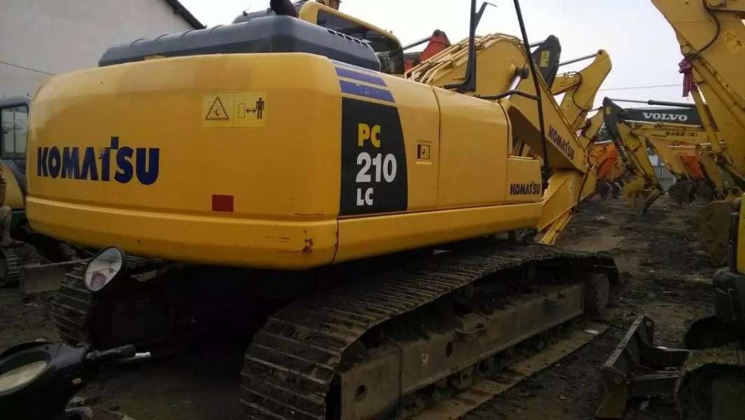Used Komatsu PC210-8 Crawler Excavator in good condition