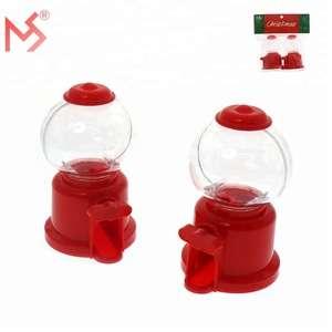 来自中国的圣诞塑料自动售货机糖果玩具