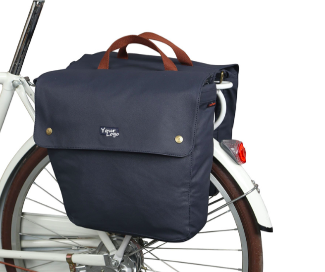 Saddle Bag的自行车