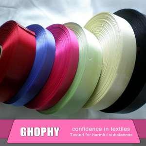 3英寸宽字符定制印花罗缎丝带批发,个性化丝带