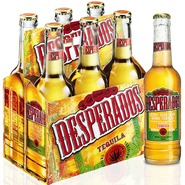 Desperados Red 33cl Bottles