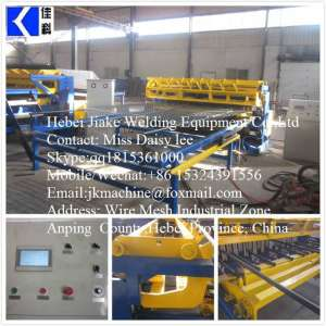 Automatic Wire Fencing Mesh Machines JK-FM-2500S