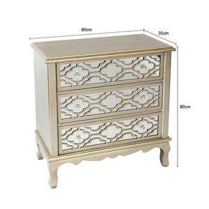 Gold Mdf Living Room Furniture Tv Cabinet