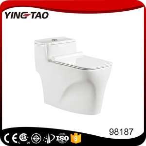 浴室设计陶瓷虹吸S型存水弯300毫米一体式抽水马桶