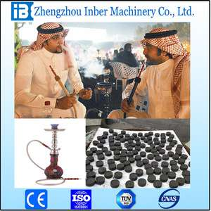 High quality coal dust hookah briquette making machine