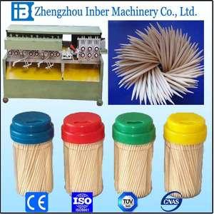Made in china bamboo skewer making machine
