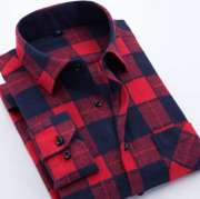Flannel Chest/Plain Shirt