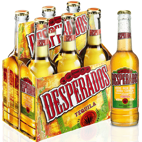 Wholesale 500 Ml Bottled Desperados Beer