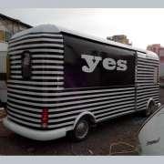 2017 new Stainless Steel Food Trailer Equipment zebra food truck Mobile food vehicle