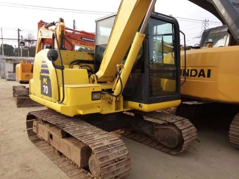 Used Komatsu PC70-8 Excavator in good condition