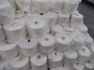 编织用有机棉纱