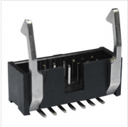 2.54mm Box Header SMT Type, Metallic Long/Short Ejector with Latches, OEM and ODM Orders Welcomed