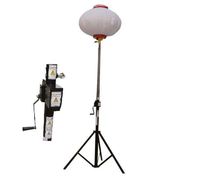 Portable family weekend camping balloon light 100W
