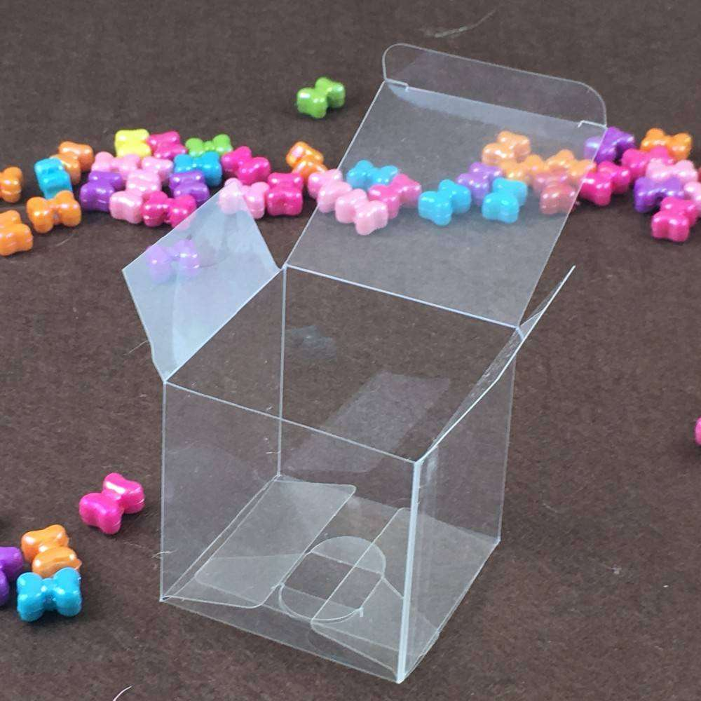 Clear Pvc Boxes Packaging Small Plastic Box Storage For Food Jewelry