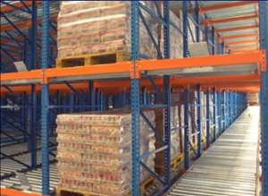Gravity Storage Racking Conveyor Racks