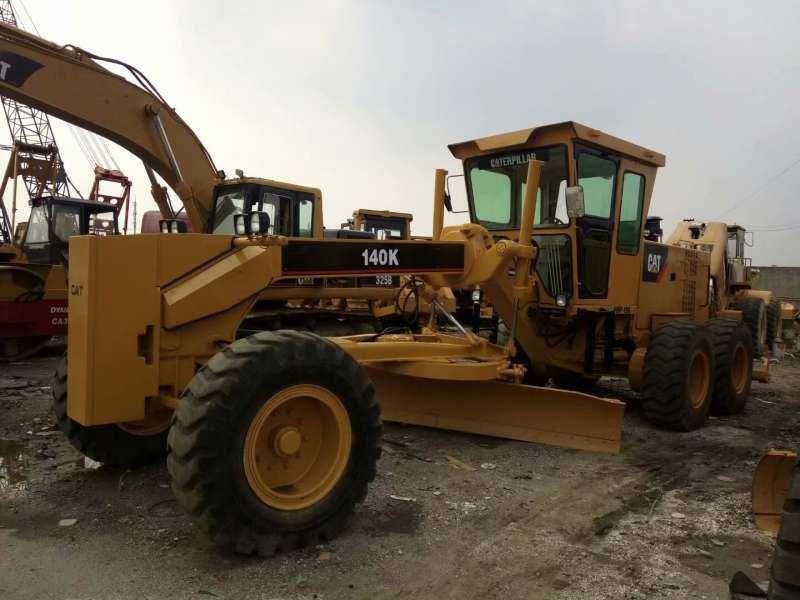 Used CAT 140K motor grader for sale