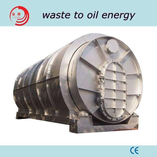 废轮胎橡胶裂解油机在中国