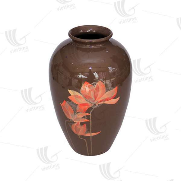Eco Friendly Lacquer Spun Bamboo Vase Decorating Vase For Wholesale