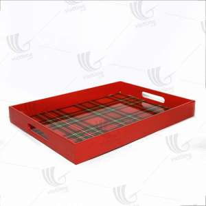 Different design colorful lacquer wooden serving tray for wholesale. Made in Vietnam