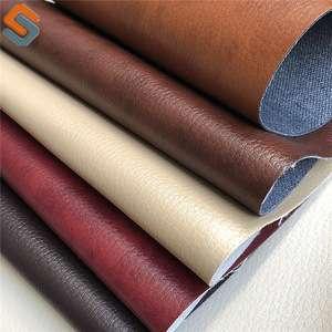 2018 Latest China Rexine Pu Artificial Leather Surplus Stock