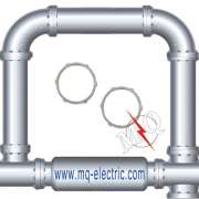 UL certificate Zinc Plated Rigid Locknut
