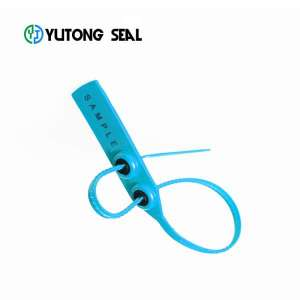 Pull tight security plastic tamper proof strap seal for shipping