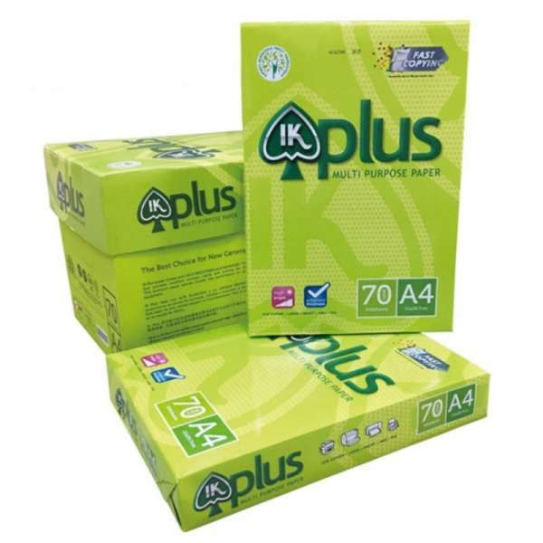 IK Plus Multipurpose Copy Paper A4