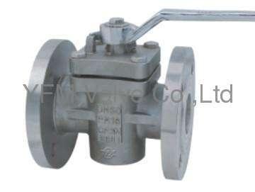 Stainless Steel straight through Weld Plug valve Like