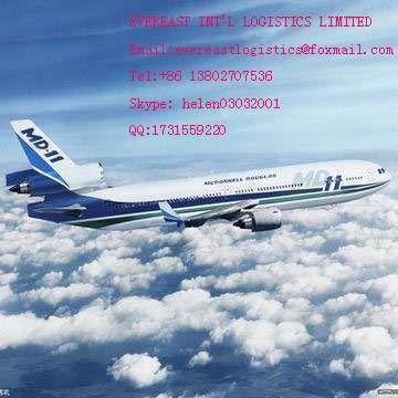 空运货物门到门运输从中国深圳到芬兰