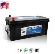 Commercial N150 12V 150Ah 150amp Heavy Duty Maintenance Free 145G51 Sealed MF  Lead Acid Big Truck Battery