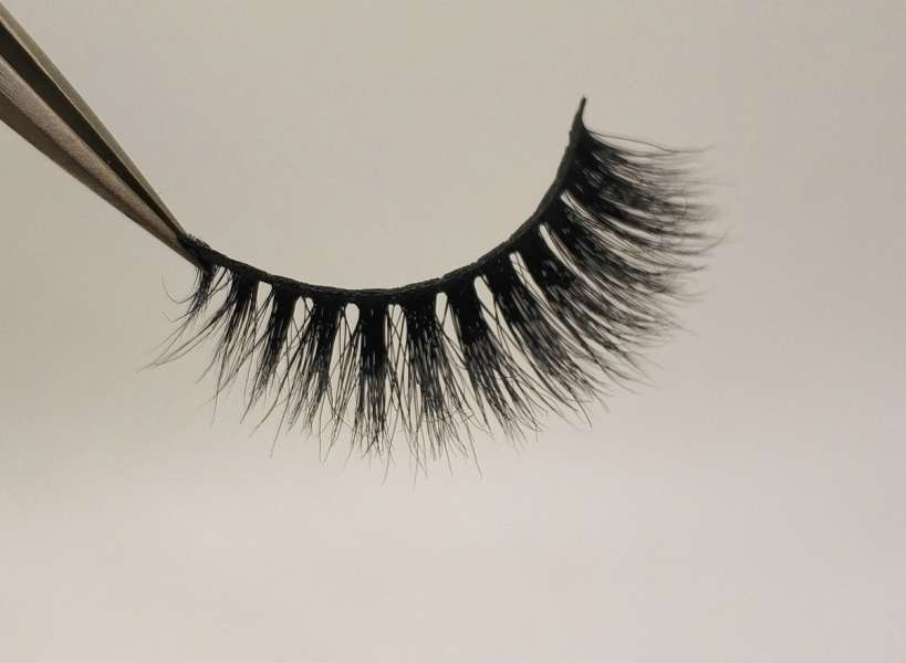 Reusable 3D Mink False Eyelashes 100% Mink Fur Handmade Fake Lashes 1 Pair PackageMTL621