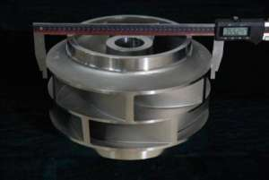 ISO9001: 2008 Ap Alloy Foundry Customized Manufacturer Precision Casting Part Double Suction Impelle