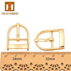 19mm high quality zinc alloy pin clip belt buckle for handbag accessory