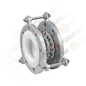 Stainless Steel Net PTFE bellow Expansion Joint Like