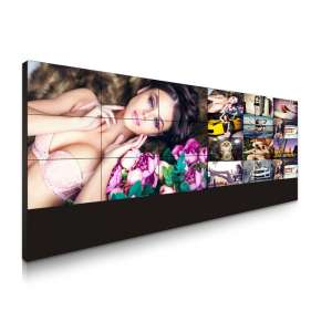 49″ 1.8mm bezel LCD video wall monitor HBY-490DUN-TJB1