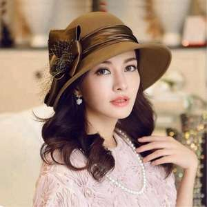 a4a616df8b4 Custom Fashion Women Bowler Derby Formal Hats Made In China