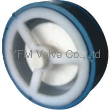 PFA lined lift wafer check valves Like