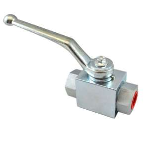 High pressure hydraulic ball valves 2 way in Stainless steel