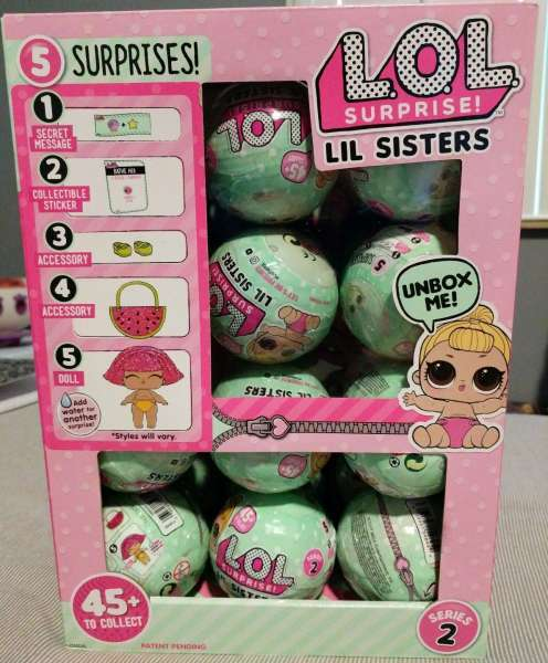Lol Surprise L O L Dolls Series 2 Little Sisters Lot Of 24