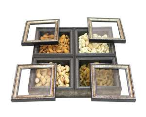 Four Compartment Mixed Dry fruit box